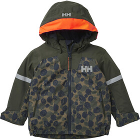 Helly Hansen Legend Insulated Jacket Kids, olive aop